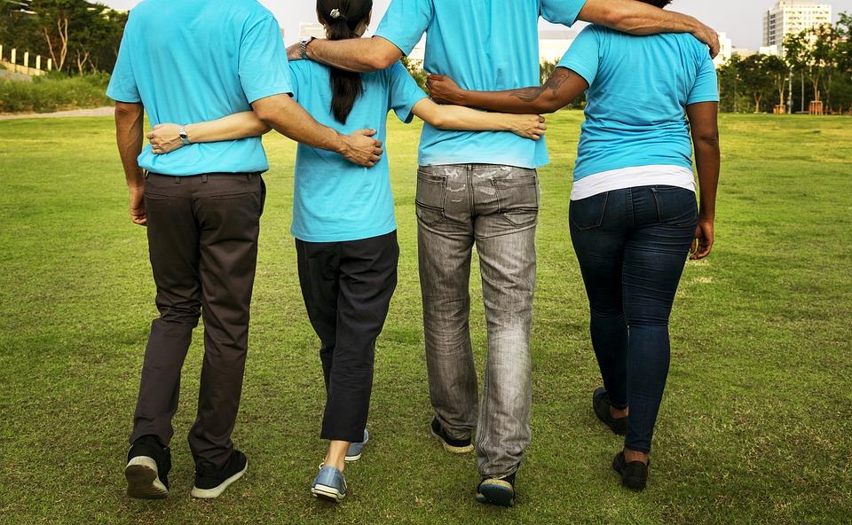 Teamwork blandt frivillige