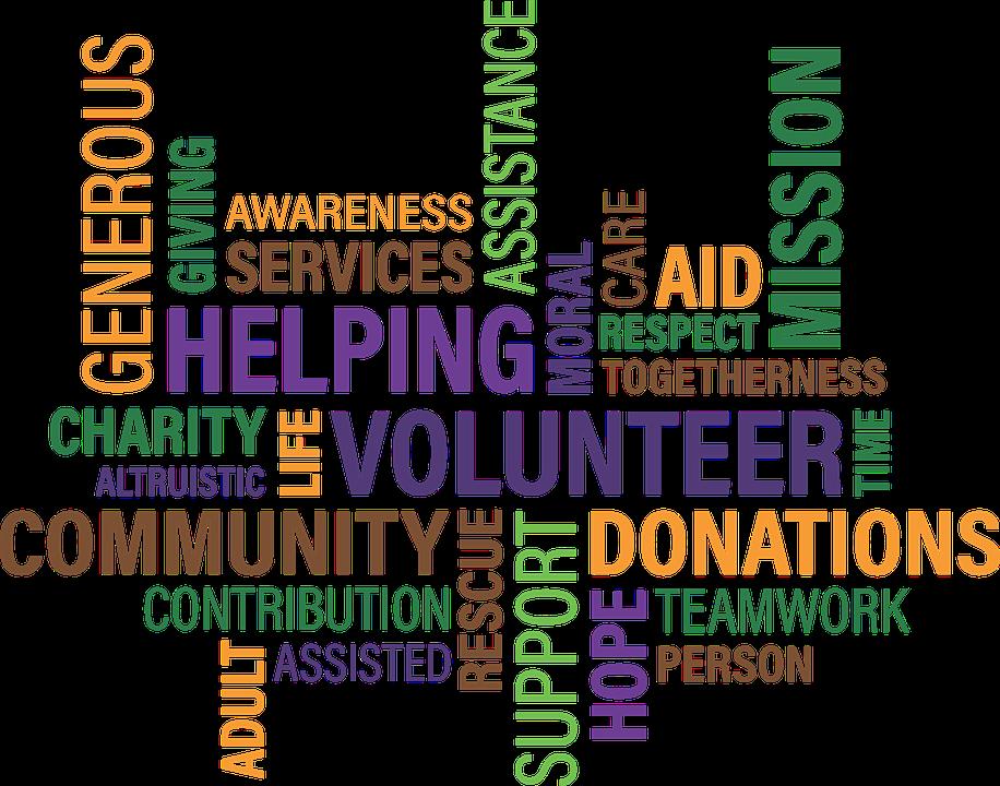 ord om frivilligt arbejde
